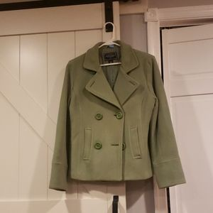 American eagle outfitters blazer green